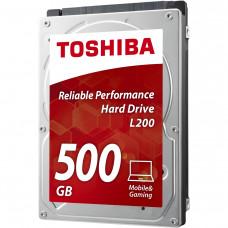 Жесткий диск Toshiba HDWJ105UZSVA (L200 ) Toshiba 2.5' 500 ГБ 5400 об/мин 8 МБ SATA III HDD