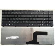 Клавиатура для ноутбука  ASUS (N53)A52, K52, X52, K53 (04GNV32KRU00-6 0KM-MF1US13) Русская Черный Бе