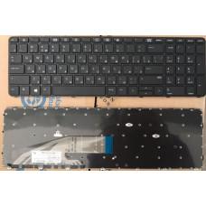 Клавиатура для ноутбука  HP ProBook: 450 G3, 455 G3, 470 G3 (6037B0115101) Русская Черный Без подсве