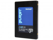 Жесткий диск Patriot PBU240GS25SSDR Patriot 2.5' 240 ГБ 500/560мб/с TLC 3D SATA III SSD
