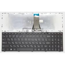 Клавиатура для ноутбука  Lenovo G50-30, G50-45, G50-70 (B50-30, B50-45, B50-70, Z50-70,  Z50-75 ) Русская Черный Без подсветки С фреймом Lenovo