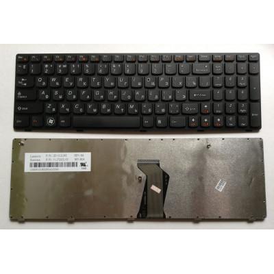 Клавиатура для ноутбука  Lenovo Z560, Z565, G570 (25-012436 25-0170323) Русская Черный Без подсветки