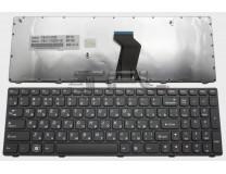 Клавиатура для ноутбука  Lenovo V570, B570, B575, V580, Z570 Русская Черный