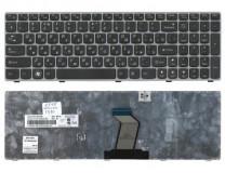Клавиатура для ноутбука  Lenovo Y570 (45108) Русская Черный Без подсветки С фреймом Lenovo