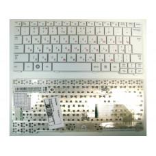 Клавиатура для ноутбука  Samsung N148, N150, N100, N128 (CNBA5902768) Русская Белый Без подсветки С