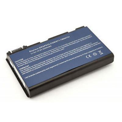 Батарея ACER TM00741/11.1V (Extensa: 5120, 5210, 5220, 5230, 5420, 5430) ACER 4400mAh  11.1V Чёрный