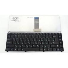 Клавиатура для ноутбука  ASUS 04GOA2H2KRU00 (U20, UL20, Eee PC 1201, 1215, 1225) Русская Черный Без