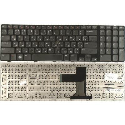 Клавиатура для ноутбука  Dell Inspiron N5110, M5110, M511R, 15R Черный Без подсветки С фреймом DELL