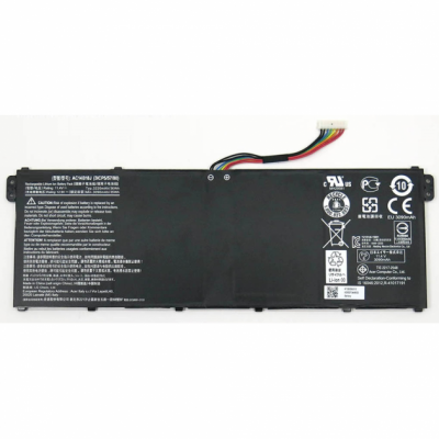 Батарея для ноутбука ACER Aspire E3-111, E3-112, E3-112M, ES1-511 (13 CB5-311 ( AC14B18J )) 2200mAh 11.4V Чёрный