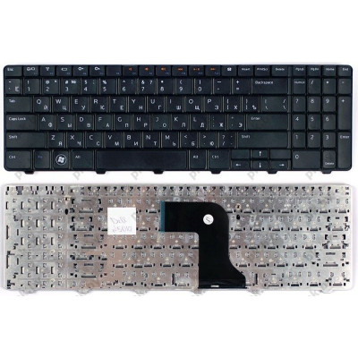 Клавиатура для ноутбука  Dell Inspiron: N5010, M5010 Русская Черный