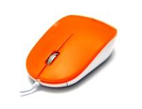 Мышь DeTech DE-5077G Orange Shiny DeTech Лазерная Проводная оранжевый 3 USB 1000 dpi