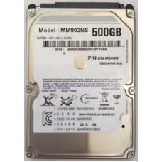 Жесткий диск UTANIA MM802NS  UTANIA 2.5' 500 ГБ 5400 об/мин 8 МБ SATA II HDD