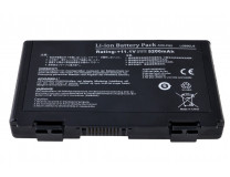 Батарея для ноутбука ASUS A32-F82 (F52, F82, K40, K50, K51, K60, K61, K70) 5200mAh 10.8V-11.1V Чёрный