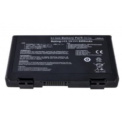 Батарея ASUS A32-F82 (F52, F82, K40, K50, K51, K60, K61, K70) Asus 5200mAh 11.1V Чёрный