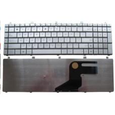Клавиатура для ноутбука  ASUS N55, N75, X5QS (N55 version) Русская Серый