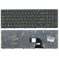 Клавиатура для ноутбука  Sony 149151211 (E15, E17, SVE15, SVE17) Русская Черный Без подсветки С фрей