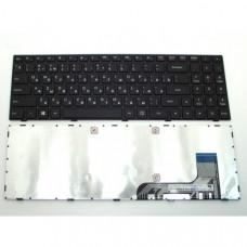Клавиатура для ноутбука  Lenovo IdeaPad 100-15IBY Русская Черный Без подсветки С фреймом Lenovo