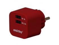 Зарядное устройство SmartBuy SBP-2300 (SmartBuy VOLT SBP-2300) SmartBuy сетевое 3.1 А тёмно-красный