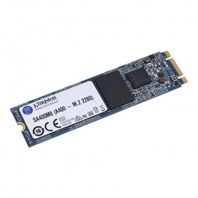 Жесткий диск Kingston SA400M8/120G Kingston M.2 120 ГБ 320/500мб/с TLC 3D SATA III SSD