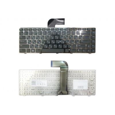 Клавиатура для ноутбука  Dell M5050, N4110, N5040, M5040, N5050 (Vostro 1440, 1450, 1540, 1550, 2420, 2421, 2520) Русская Черный