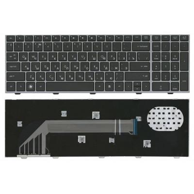 Клавиатура для ноутбука  HP Probook 4540S, 4545S, 4740S  Русская Черный Без подсветки С фреймом HP