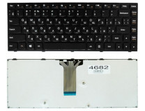 Клавиатура для ноутбука  LENOVO G40-30, G40-45, G40-70, Z40-70, Z40-75 (G40-75, G40-80, Z41-70, Flex 2-14) Русская Черный