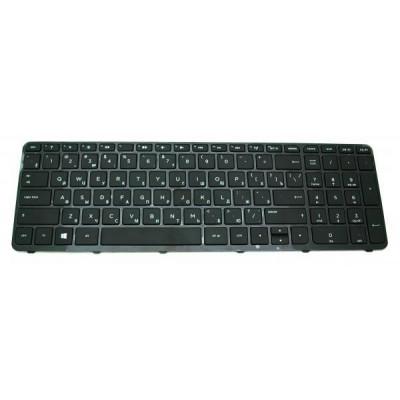 Клавиатура для ноутбука  HP 15-B, 15T-B, 15Z-B series Русская Черный Без подсветки С фреймом HP