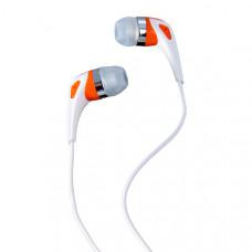 Наушники  Perfeo  Color Music (PF-CLM-ORN) Perfeo  вкладыши (earphones) Проводные 20 - 20 000 Гц 16