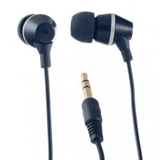 Наушники  Perfeo  GEAR (PF-GER-BLK) Perfeo  вкладыши (earphones) Проводные 20 - 20 000 Гц 16 Ом 1.2